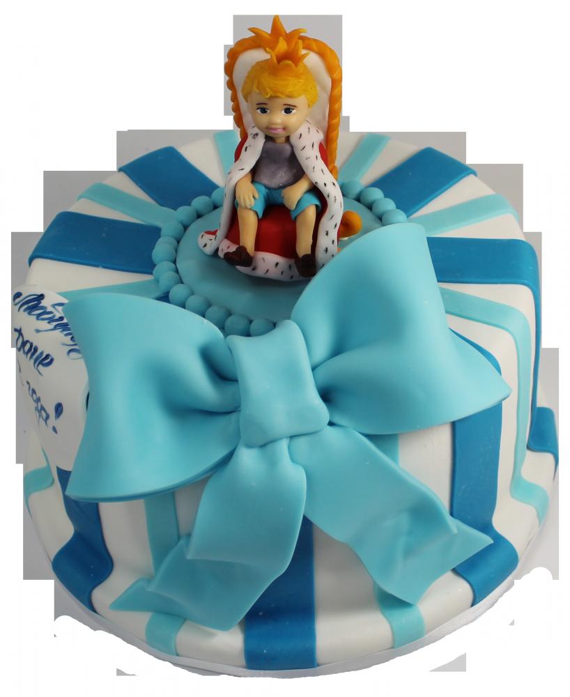 №050 Детский торт с мальчиком