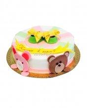 №046 Детский торт на 1 годик