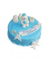№007 Детский торт на крещение