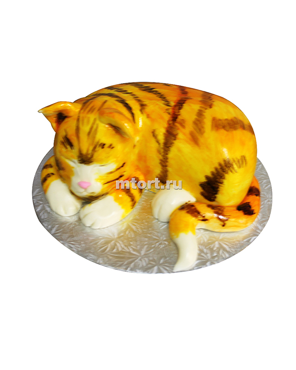 №006 Детский торт кошка