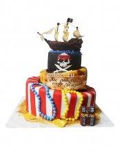 №019 Детский торт пираты