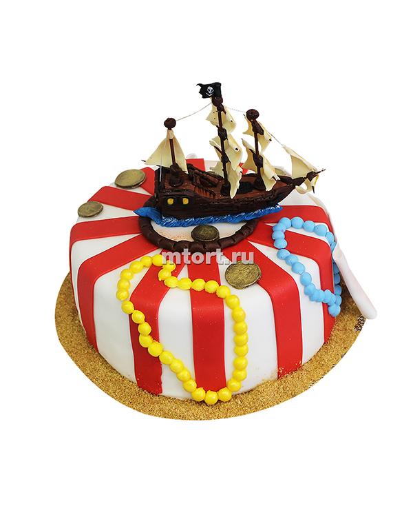 №049 Торт детский пираты