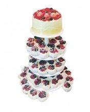 №178 Свадебный торт с капкейками