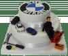 №740 Корпоративный торт для bmw