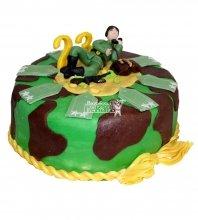 №724 Праздничный торт на 23 февраля