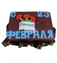 №726 Праздничный торт на 23 февраля