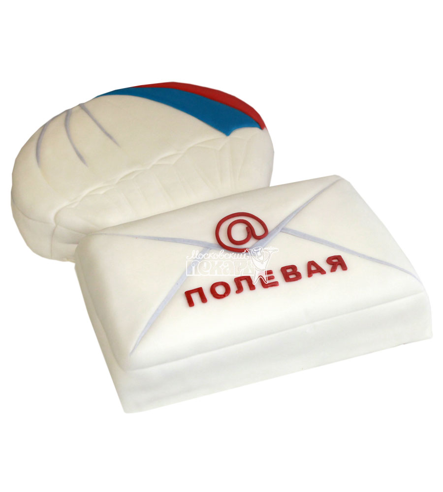 №741 Корпоративный торт для полевой почты