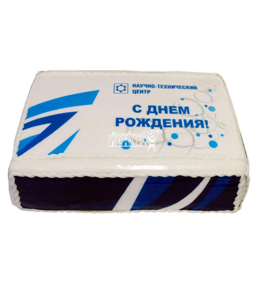 №743 Корпоративный торт для Научно-технического центра