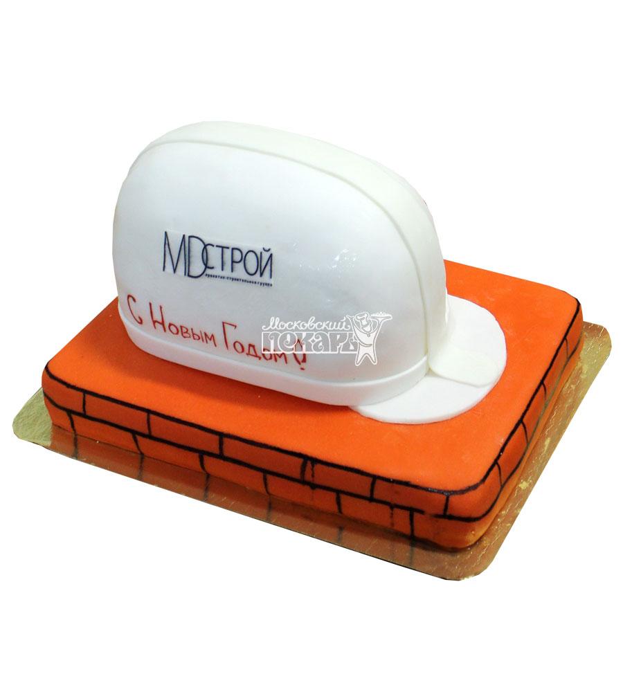 №745 Корпоративный торт для MD Строй