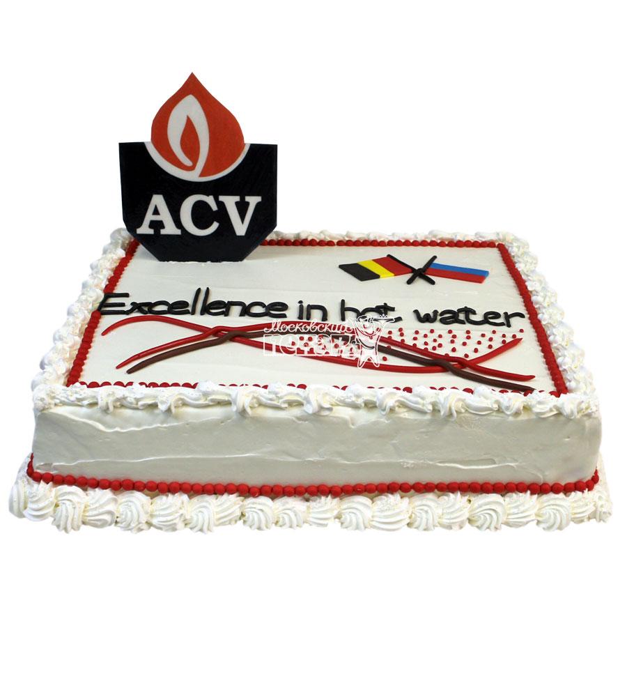 №748 Корпоративный торт для ACV
