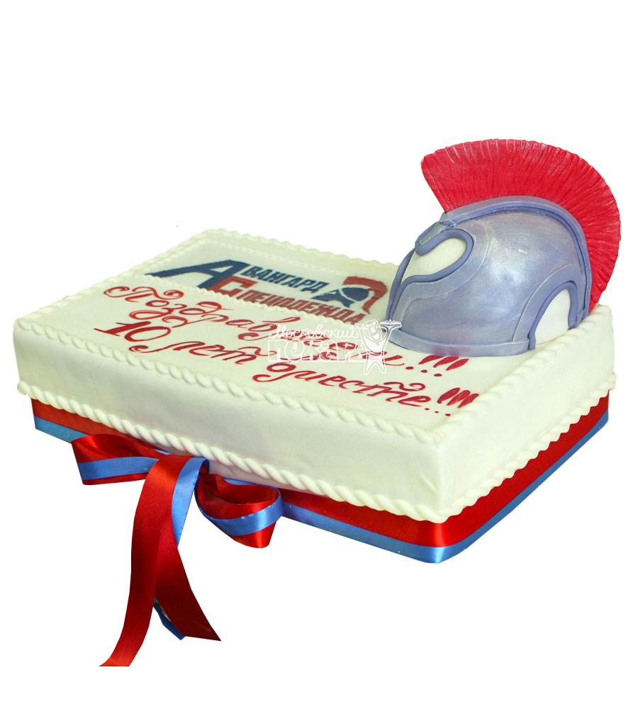 №750 Корпоративный торт для Авангард Спецодежда