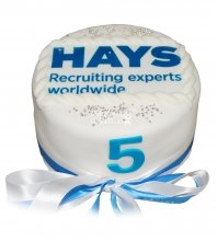 №751 Корпоративный торт для HAYS