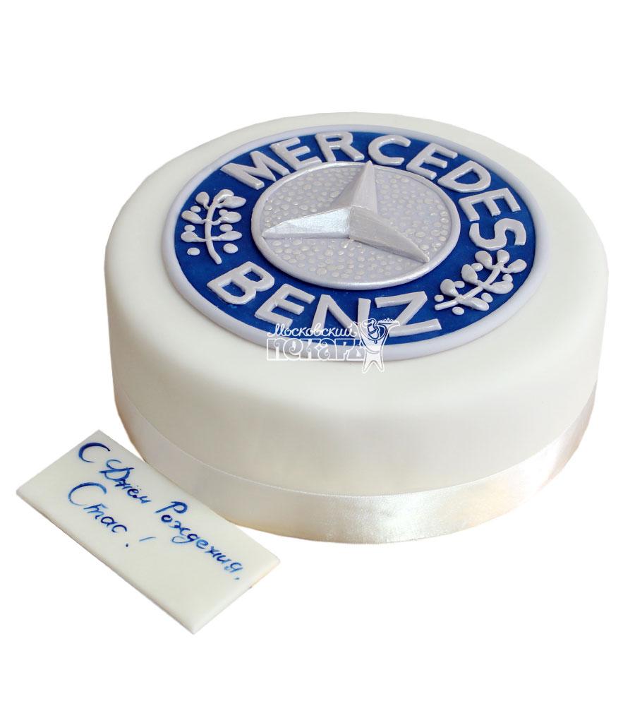 №752 Корпоративный торт для Mercedes Benz