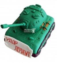 №672 3D Торт танк