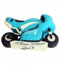 №675 3D Праздничный торт мотоцикл