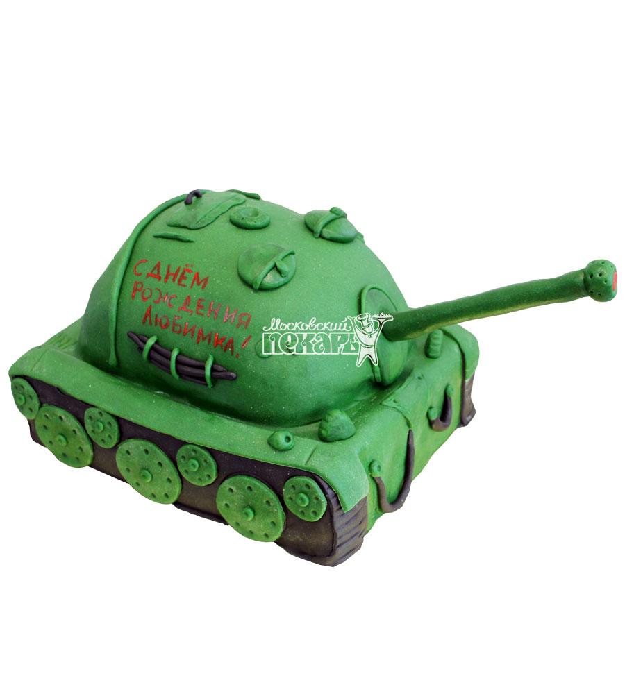 №677 3D Торт на день рождения танк