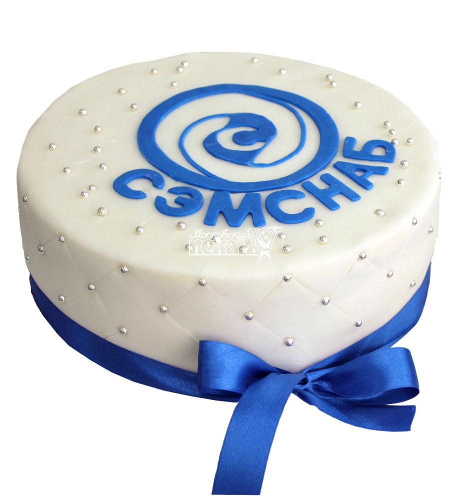 №753 Корпоративный торт для СЭМСНАБ