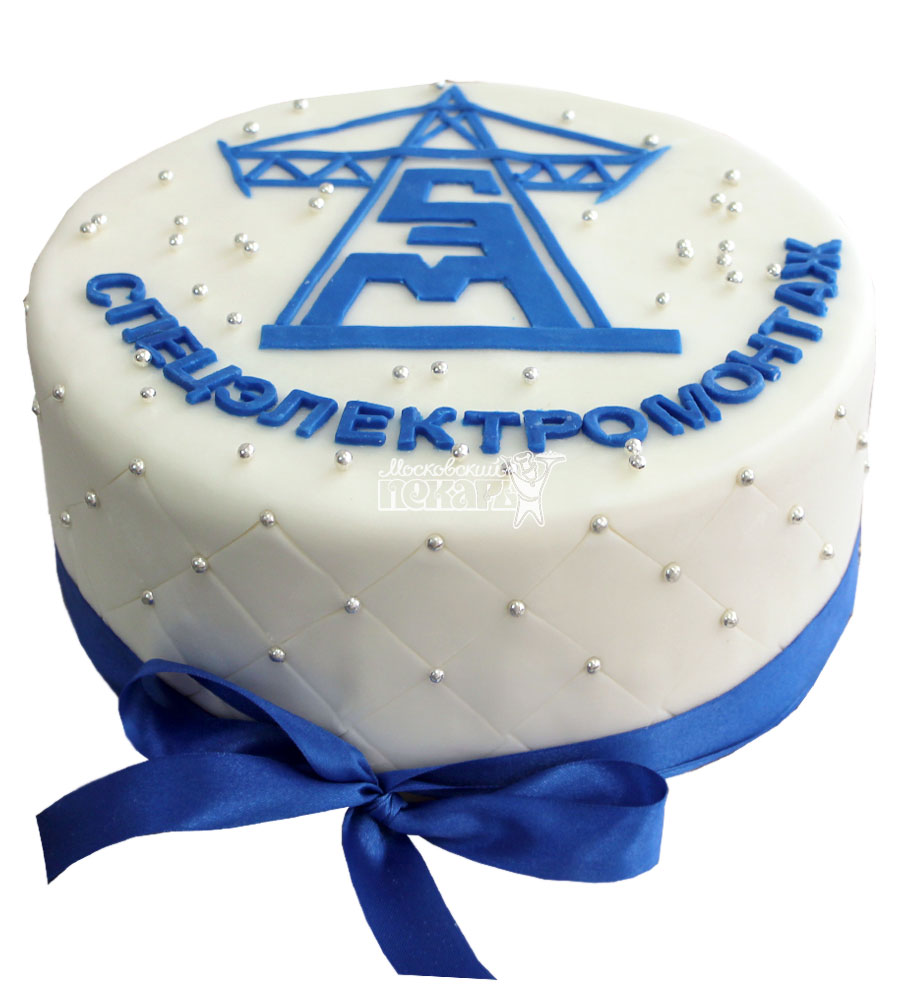 №754 Корпоративный торт для СПЕЦЭЛЕКТРОМОНТАЖ