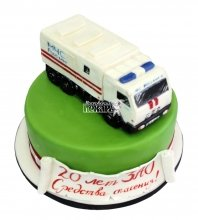 №756 Корпоративный торт для МЧС России