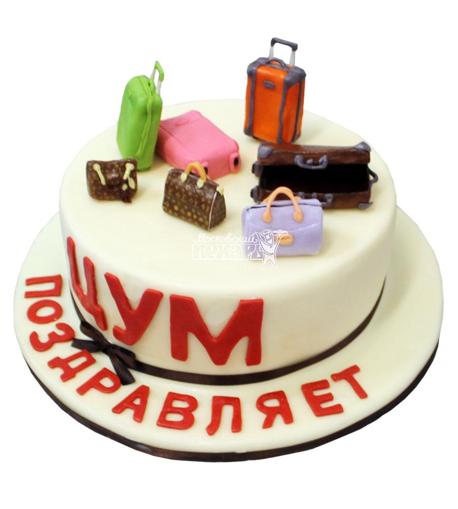 №757 Корпоративный торт для ЦУМ