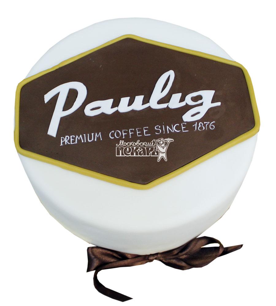 №758 Корпоративный торт для Paulig