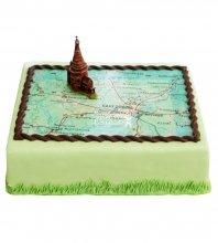№759 Корпоративный торт