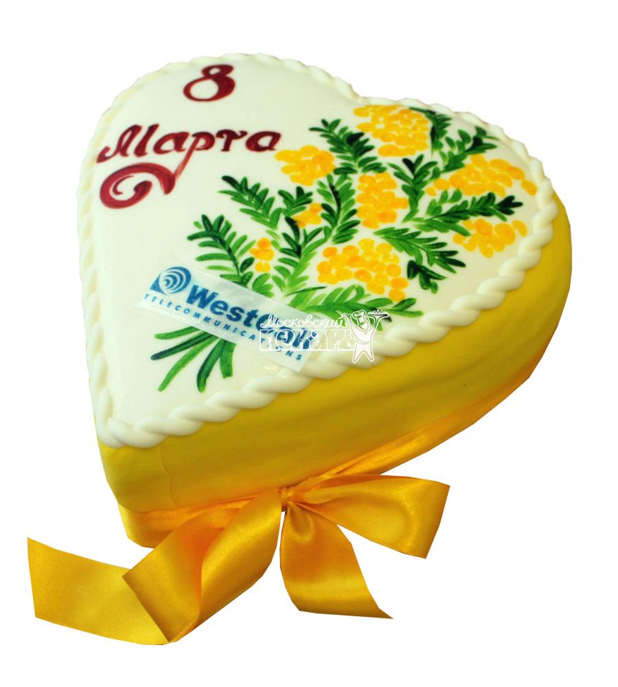 №735 Торт сердце