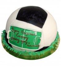 №687 3D Торт мяч