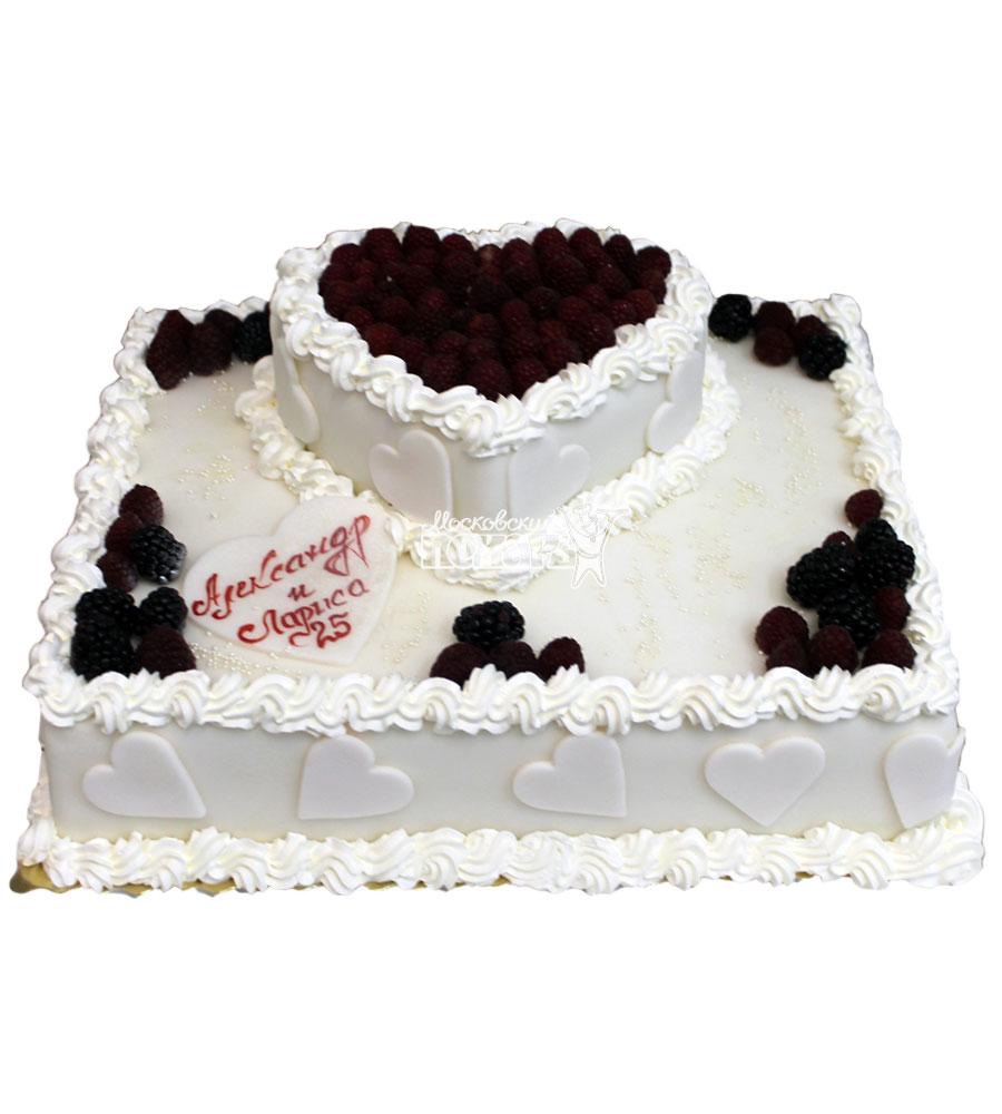 №738 Торт с сердцем