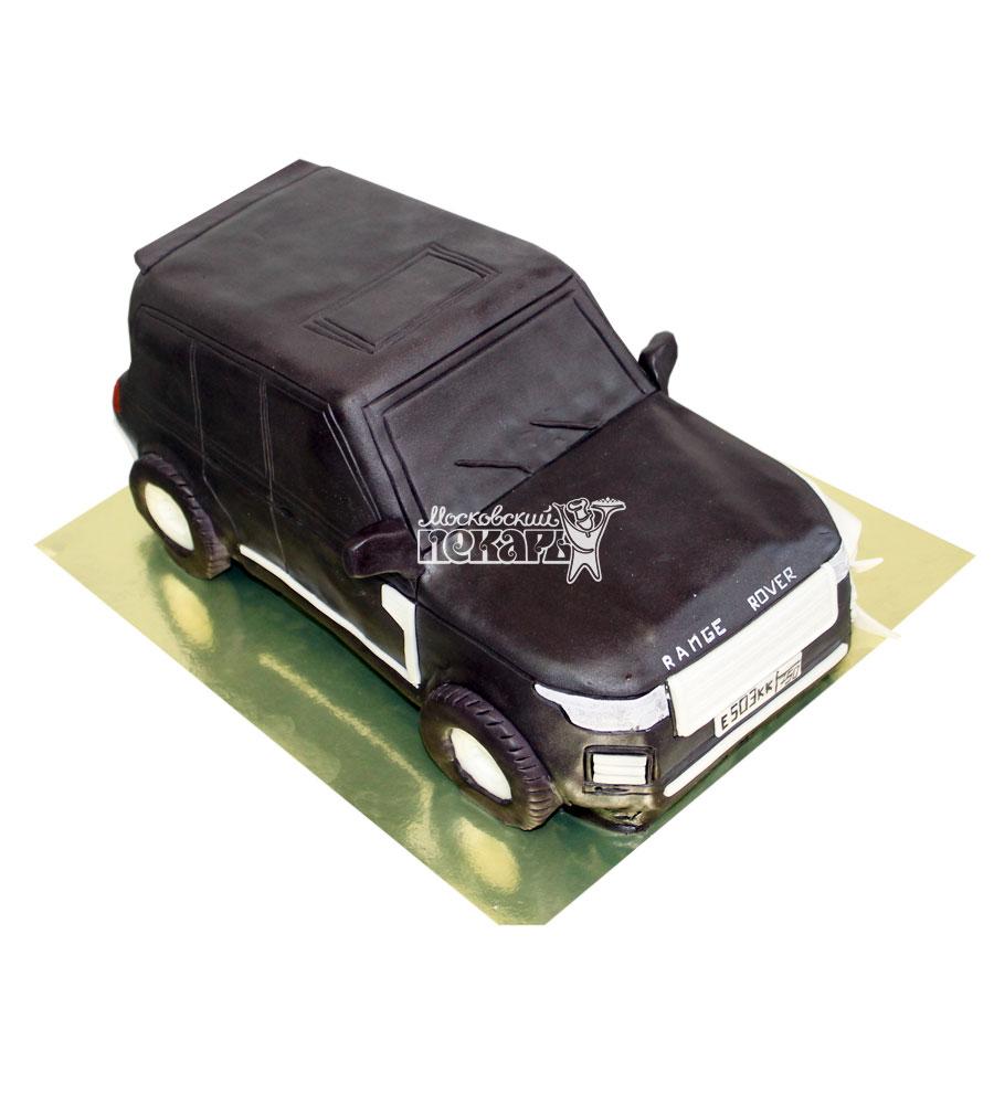 №717 3D Торт Рендж Ровер