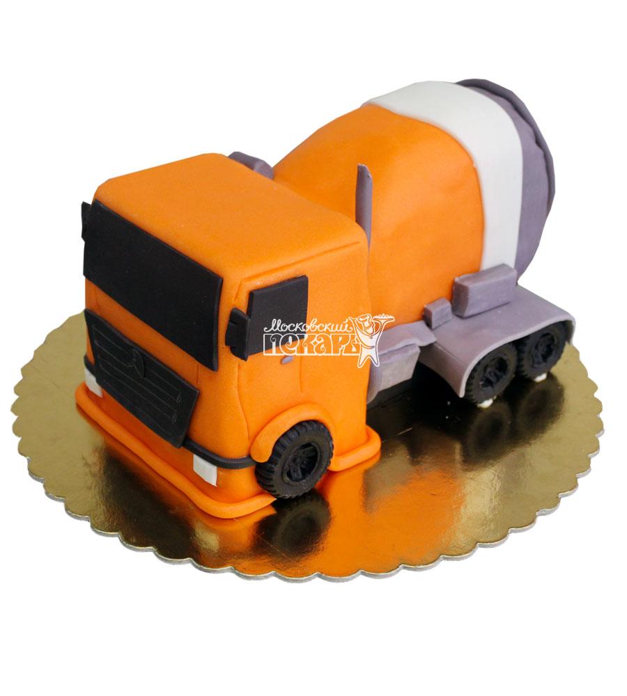 №718 3D Торт грузовик