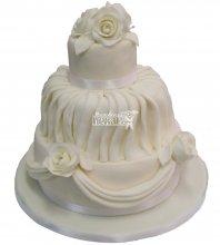 №667 Небольшой свадебный торт