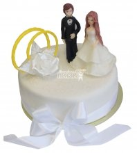 №355 Небольшой свадебный торт