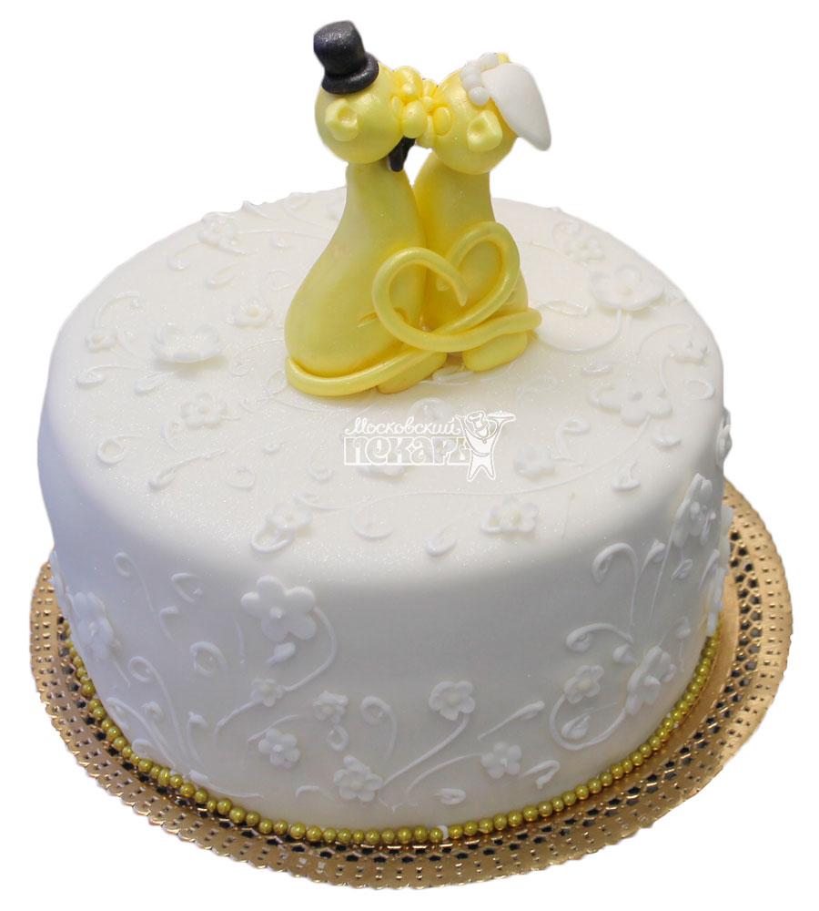 №359 Небольшой свадебный торт