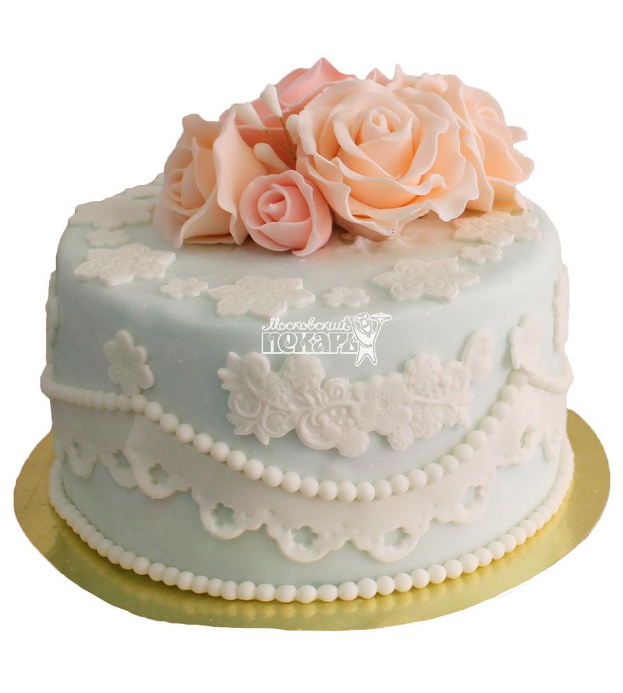 №354 Небольшой свадебный торт