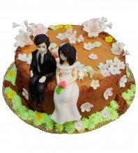 №348 Небольшой свадебный торт