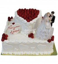 №362 Небольшой свадебный торт