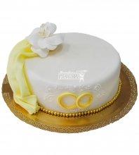 №349 Небольшой свадебный торт