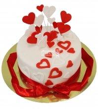 №353 Небольшой свадебный торт