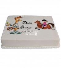 №399 Небольшой свадебный торт