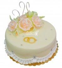 №352 Небольшой свадебный торт