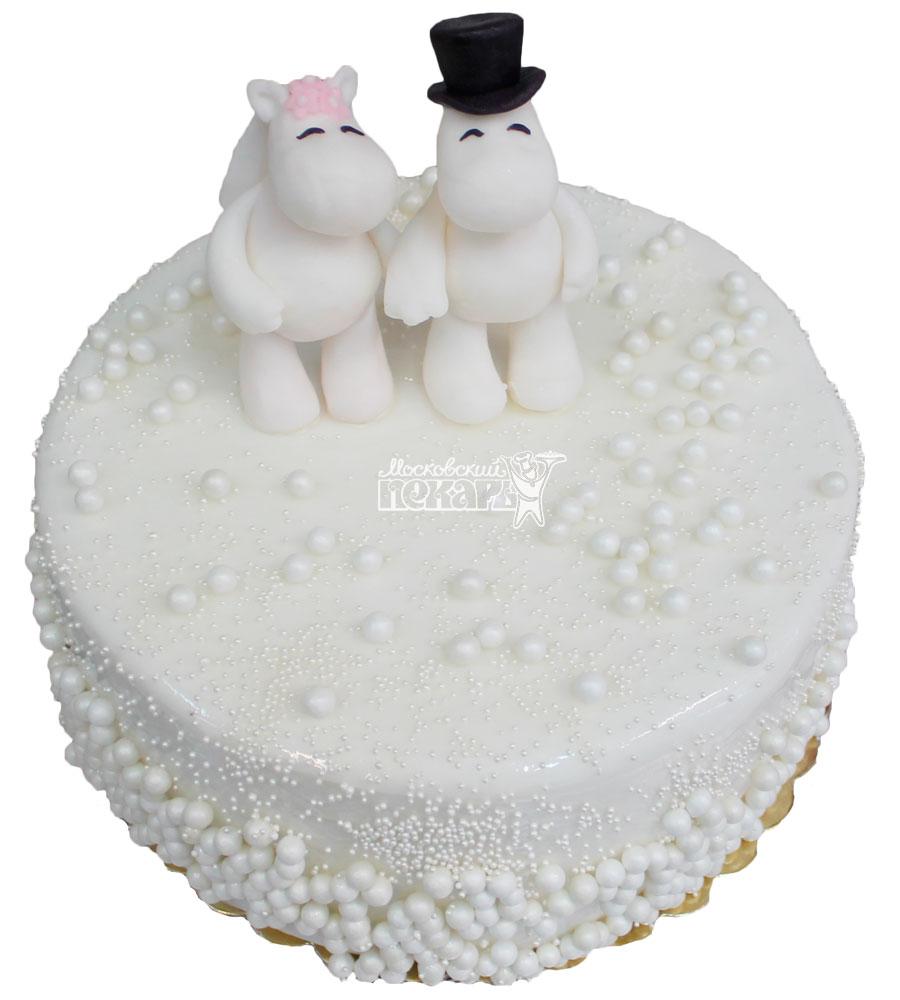 №346 Небольшой свадебный торт