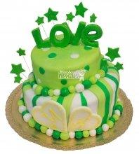 №366 Свадебный торт love