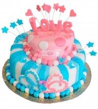 №390 Свадебный торт love