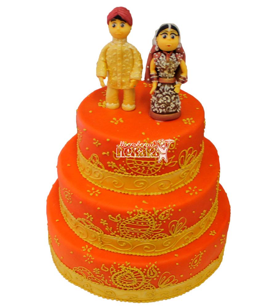 №393 Свадебный торт восточный
