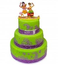№394 Свадебный торт восточный