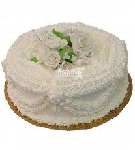 №401 Свадебный торт со сливками