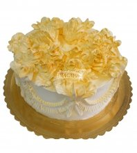 №406 Свадебный торт со сливками