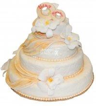 №434 Свадебный торт классический