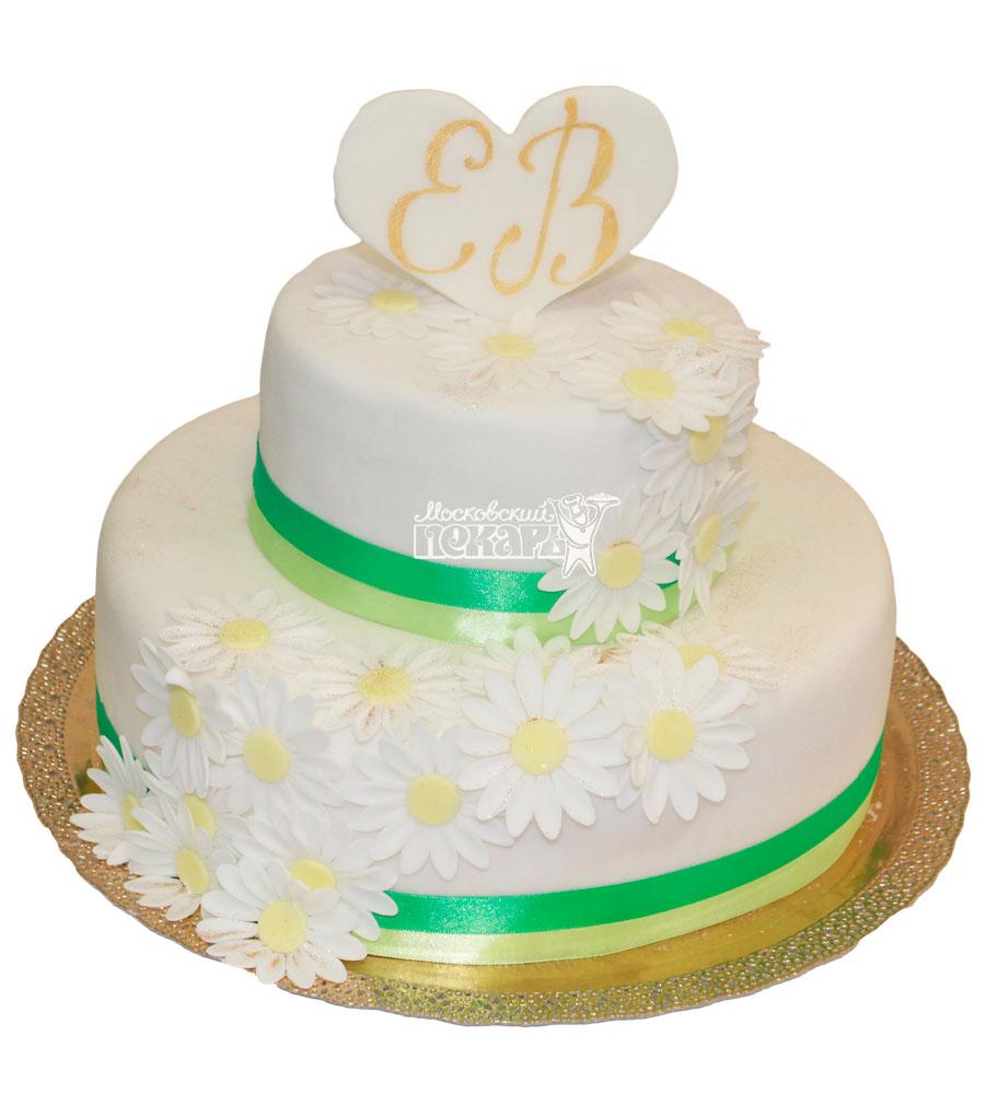 №437 Свадебный торт классический